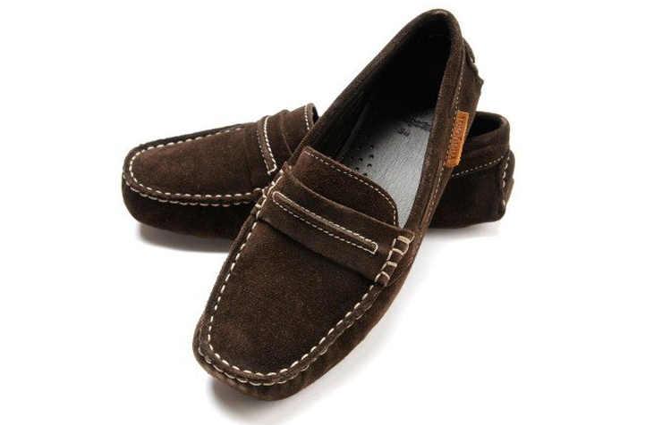 Коричневые школьные туфли для мальчиков