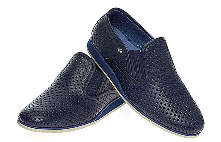 Синие туфли для мальчиков