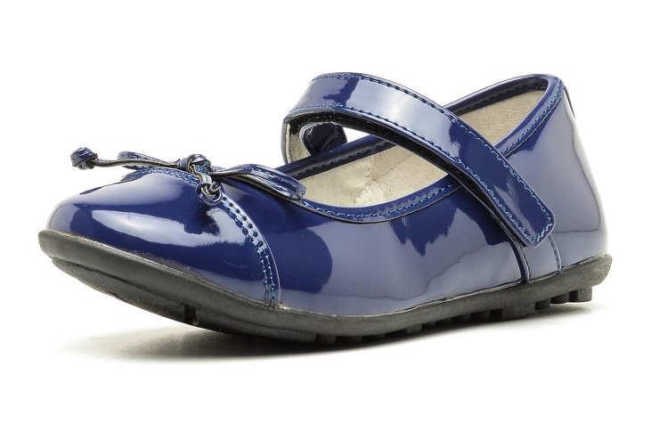 Синие туфли для девочек