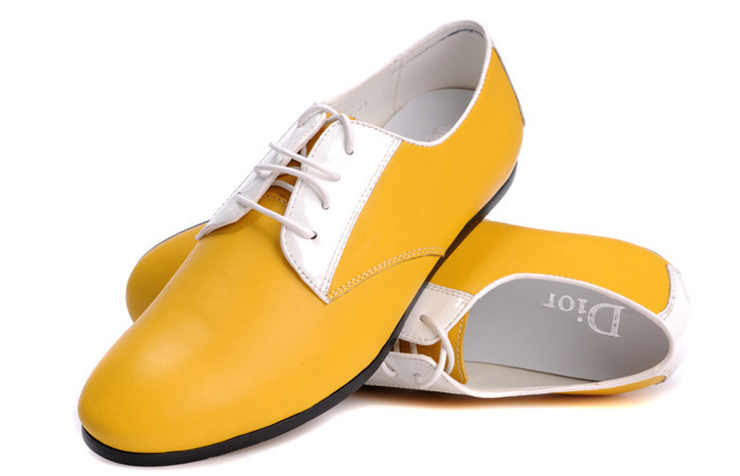 Желтые туфли для мужчин