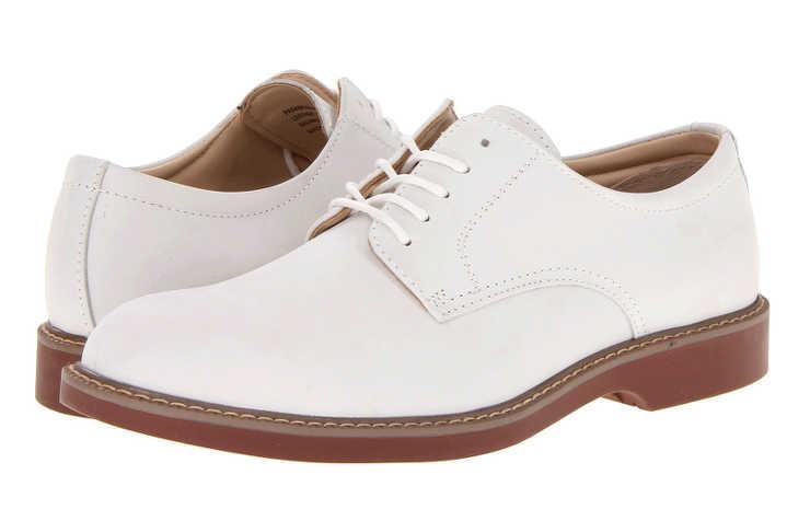 Белые туфли на мальчика