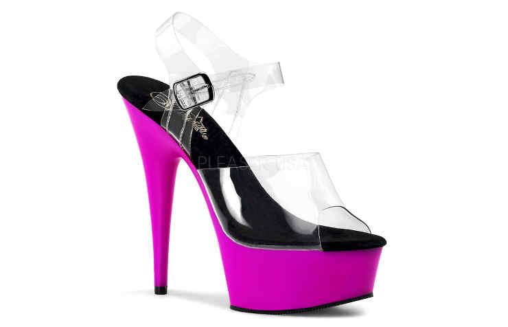Туфли фиолетового цвета