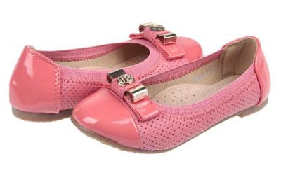 Розовые туфли для девочек
