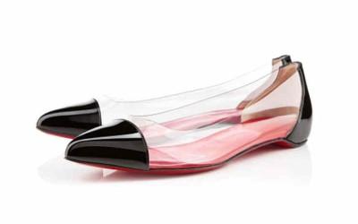 Прозрачные туфли-лодочки