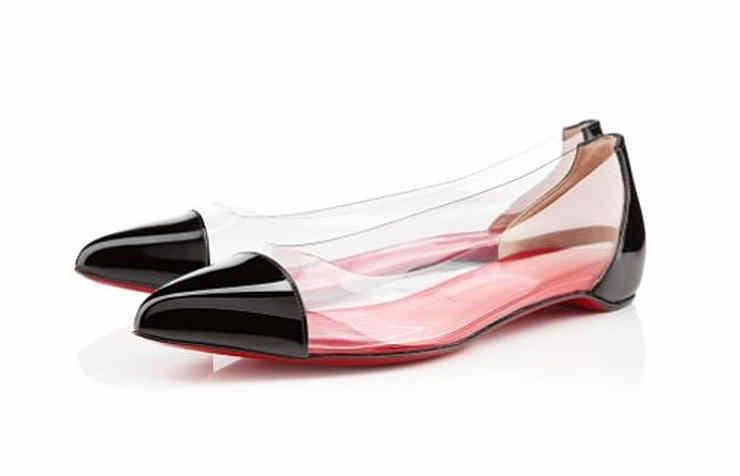 Прозрачные туфли для женщин