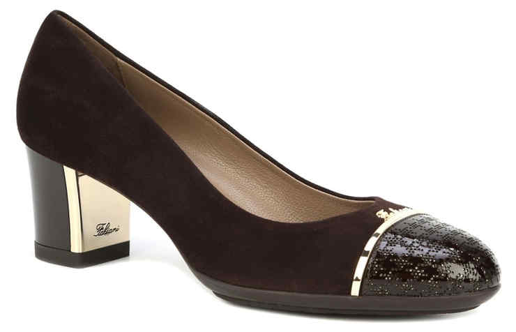 Коричневые туфли FABIANI