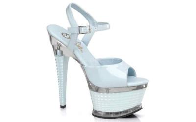 Голубые туфли для Pole Dance