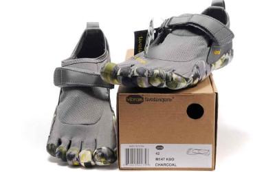 Необычные серые туфли для мужчин