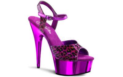 Фиолетовые босоножки