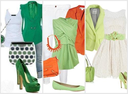 вариантов одежды и аксессуаров, подобранных, чтобы носить с зелеными туфлям