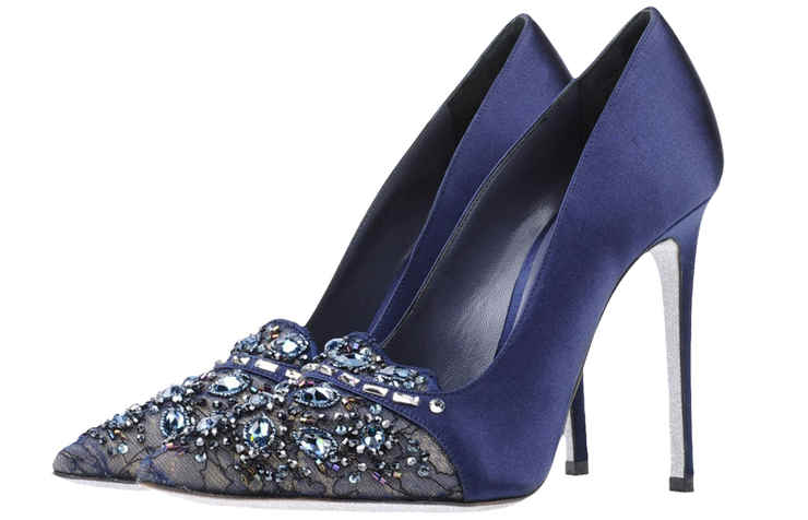 Синие туфли на Новый год