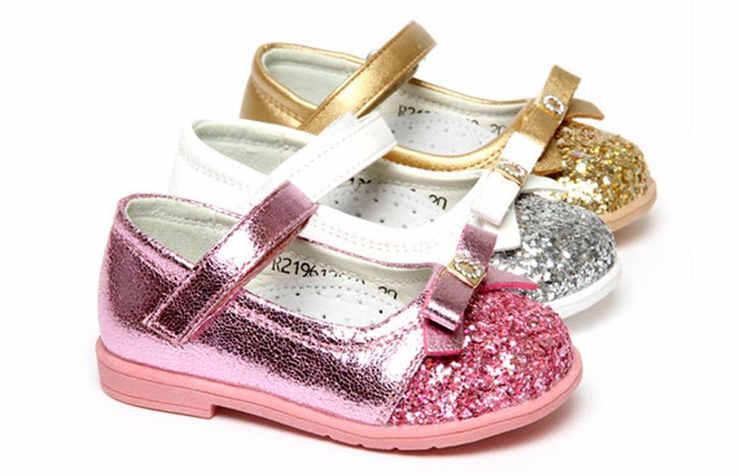 Новогодние туфли для девочек
