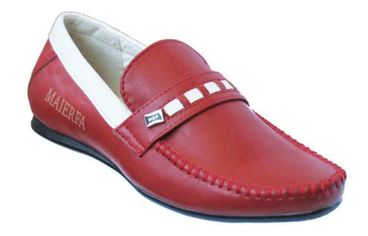 Красные туфли для мальчиков