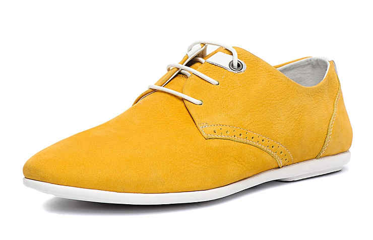 Желтые туфли для мальчиков