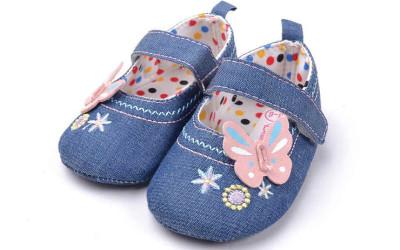 Джинсовые туфли для девочек