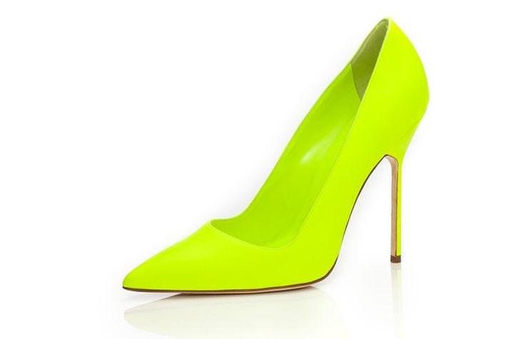 Неоновые туфли