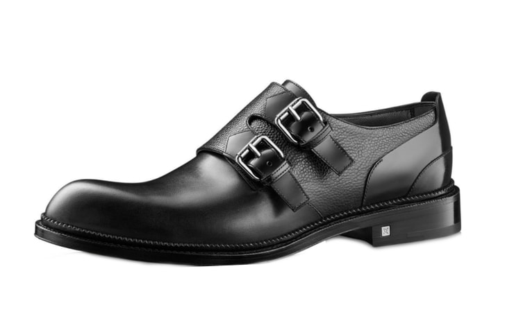 Мужские туфли с пряжками от Louis Vuitton