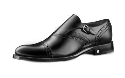 Туфли черные мужские с пряжкой Loyalty