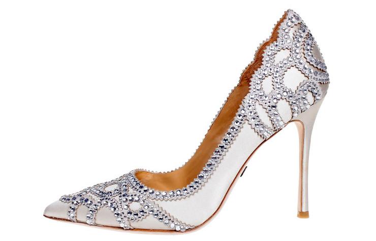 Туфли для невесты Badgley Mischka Rouge