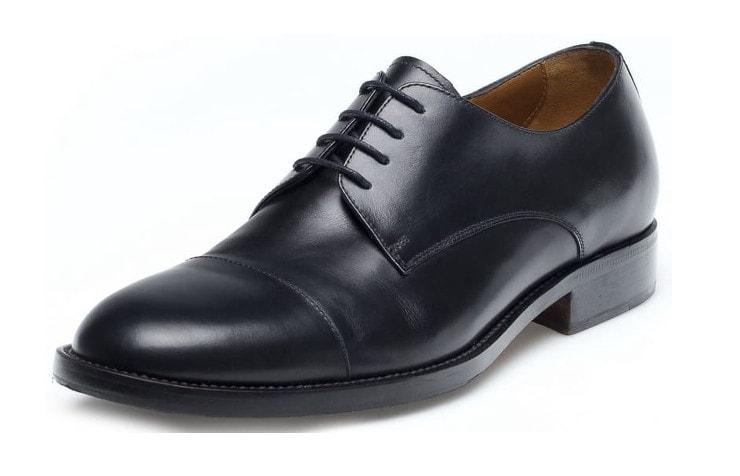 Стильные черные туфли для мужчин
