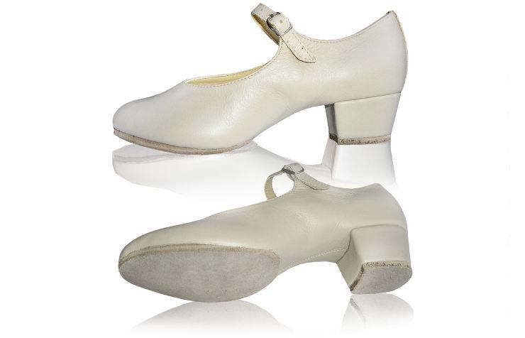 Туфли для народных танцев с раздельной подошвой