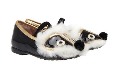 Туфли с мордочкой от Gucci