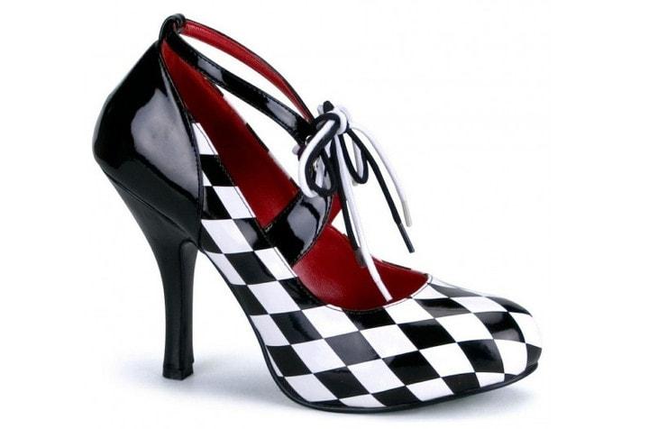 Туфли Арлекино для маскарада
